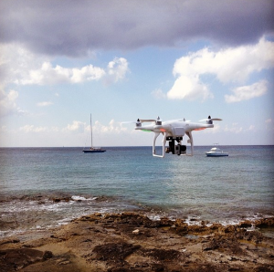 DJI Phantom in Cozumel Mexico