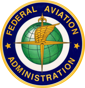 FAA Logo and UAV Drones