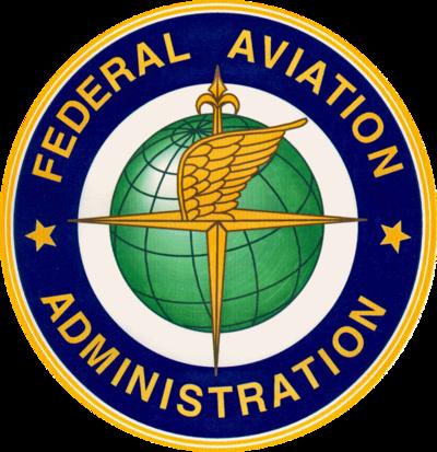 FAA Logo and UAV Drones